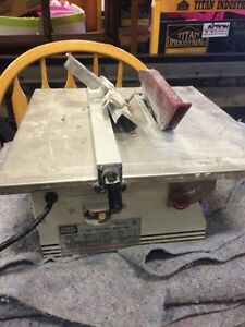 "7"" tile cutting machine in leduc Edmonton Edmonton Area image 3"