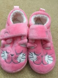 Next toddler slippers size 5