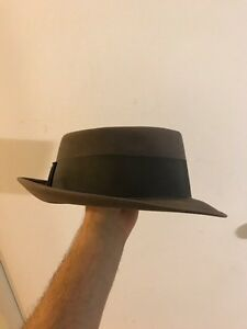 40s or 50s grey Barrister Fedora