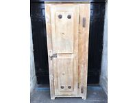 19th Century Stripped Pine Country Food Pantry / Store - the original fridge!!!