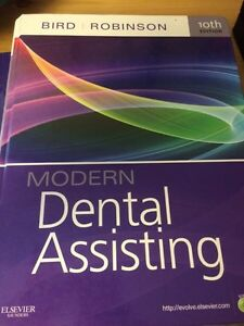 Dental Assisting textbooks