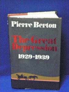 Pierre Burton- The Great Depression- Fundraiser- site closing