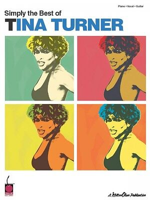Simply the Best of Tina Turner Sheet Music Piano Vocal Guitar Songbook (Simply The Best Music)