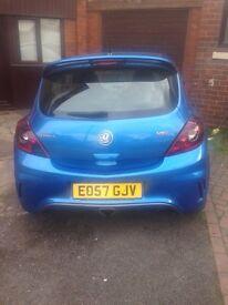 Vauxhall Corsa VXR Not Astra Megane 225