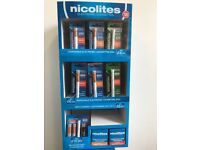 Nicolites products E-cigs 75%off RRP job lot