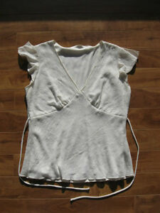 Eclipse White Top Size M
