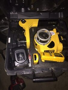 18V Self Leveling Int/Ext Rotary Laser Package Prince George British Columbia image 1