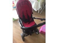 Oyster 2 pushchair with oyster buggy board