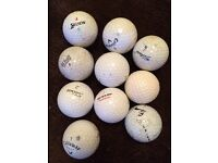 Bundle of 15 golf balls