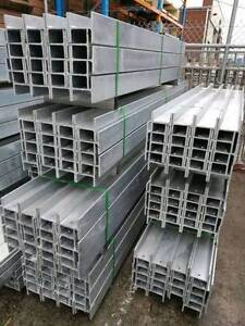 Retaining Wall H Channel & C Channel Galvanized Steel For Sale Hoppers Crossing Wyndham Area Preview