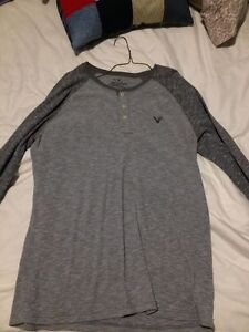 Large T-shirts and sweaters