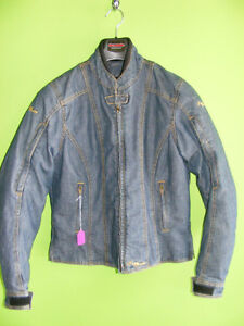 Ladies - Denim Riding Jacket - Tourmaster - Large at RE-GEAR Kingston Kingston Area image 1