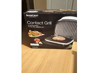 Silver Crest Contact Grill