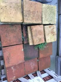 12x12 reclaimed clay floor pamments pammets
