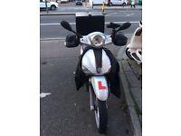 Italian Piaggio 125 cc