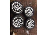 """17"""" Ford Focus zetec-s alloys mint condition"""