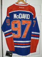 Connor Mcdavid - Edmonton Oilers jersey - New - Stitched   White