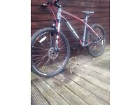 Merida gents mountain bike