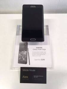 Like New Samsung Galaxy Note Edge, 32G, Black Beenleigh Logan Area Preview
