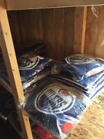 Lot of replica NHL jerseys
