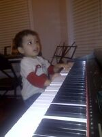 PIANO AND GUITAR MUSIC LESSONS $15/45MINS ONE FREE LESSON