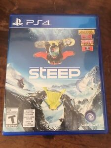 Steep for PS4 $30 or trade for car games or NHL17
