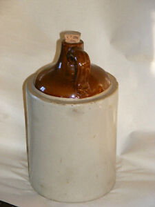 REDUCED PRICE!!!-Antique, Glazed   EARTHENWARE/Ceramic/Clay JUG