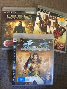 Sony PlayStation 3 Games X 3 Complete - can post Bracken Ridge Brisbane North East Preview