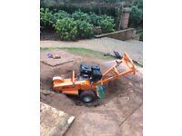 Stump grinder , rock machinery stump grinder