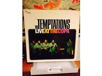 """The Temptations - Live At The Copa - Vinyl 12"""" LP Record"""
