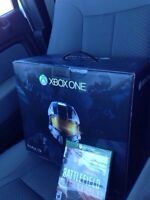 Xbox one, controllers, and games