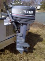 25hp Yamaha outboard for sale.