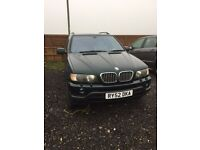 BMW X5 4.4 v8 spares or repairs