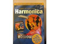 Harmonica - Learn to Play book. Good condition, boxed- good for christmas present