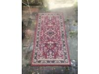 """Persian red rug 53"""" by 26"""""""