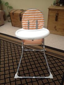 Mothercare high chair.