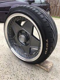 "16"" Autostrada Modena 2 Piece Split Wheels 5x114.3 + Toyo Proxes 195/40/15"
