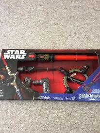 Star Wars spin-action BLADEBUILDERS with lights and sound