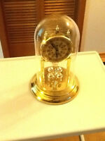 Glass Domed Clock