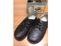 Vintage Childs shoes, size 6, real leather, made in England