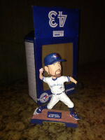 R.A. Dickey Toronto Blue Jays Collectible Bobblehead New in Box