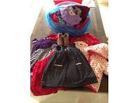 Toddler girls bundle of clothes