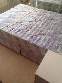 Double divan bed free delivery