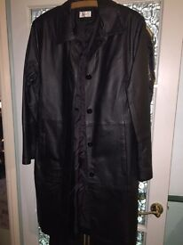 Real leather jacket - size 10/12