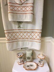 Ensemble de serviettes et décorations