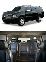 Suburban Yukon XL Cadillac 3RD ROW SEATS Ebony Black Leather