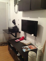 Room sublet in downtown Montreal for $550/mo. for July & August