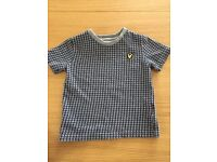 Lyle and Scott boys t-shirt age 2-3 years