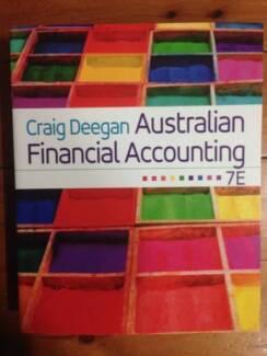 7th edition textbook in melbourne region vic gumtree australia craig deegan australian financial accounting 7e fandeluxe Choice Image