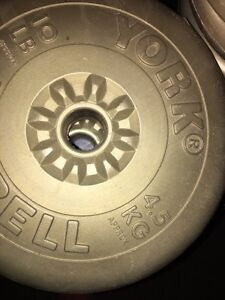 Weights and bench press No Bar available only weights and bench Cambridge Kitchener Area image 2